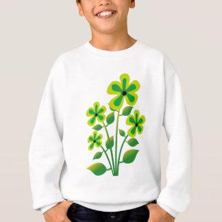 Tshirt flor na ilustração
