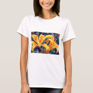 Tshirt Floral abstrato