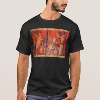 Tshirt Fresco #1 de Pompeii (casa de campo dos mistérios)