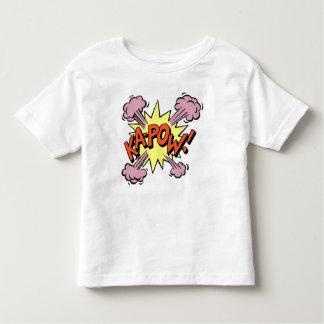 Tshirt fresco KA-POW da criança de Les!