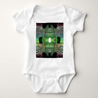 Tshirt futurista 2 da criança do desenhista do