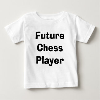 Tshirt futuro da xadrez das crianças da criança do
