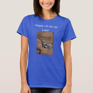 Tshirt Gato de racum engraçado de Maine