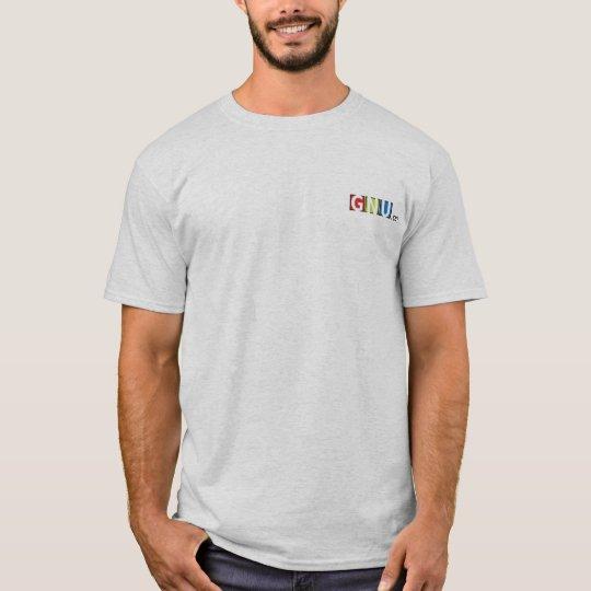 Tshirt GNU t-shirt.