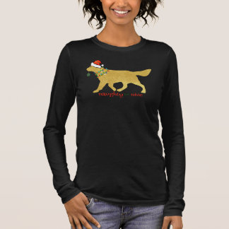 Tshirt Golden retriever do Natal impertinente mas