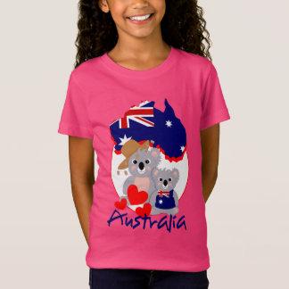Tshirt Gráfico bonito super australiano dos ursos de