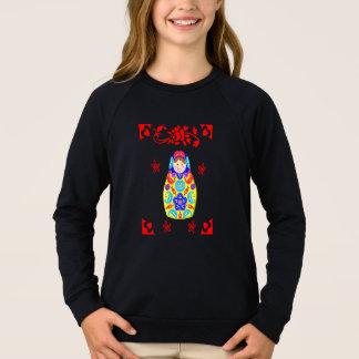 Tshirt Gráfico irrisório da boneca do russo de Matryoshka