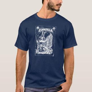 Tshirt Grafiteira CANZILLA - Retro SciFi monstro banda