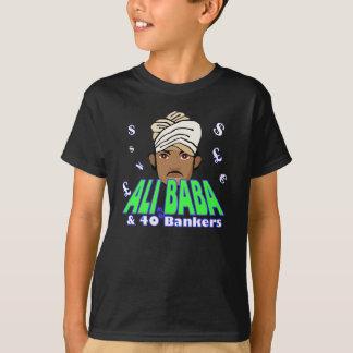 Tshirt Humor incorporado da avidez da crise financeira de