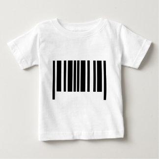 Tshirt ícone do código de barras