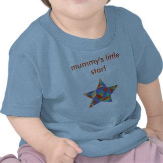 Tshirt infantil, pouca estrela da mamã