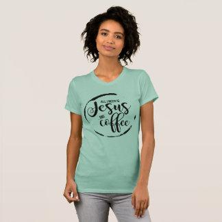 Tshirt Jesus e café