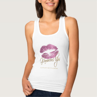 Tshirt Lábios tão cor-de-rosa glamoroso 2 do brilho