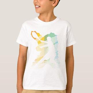 Tshirt leve do tênis para homens, mulheres e