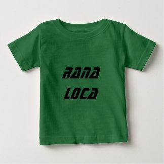 Tshirt locus de Rana - espanhóis loucos do sapo