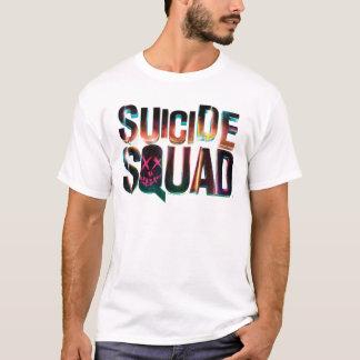 Tshirt Logotipo colorido do fulgor do pelotão | do
