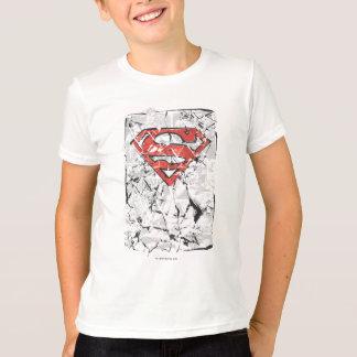 Tshirt Logotipo cómico amarrotado | estilizado do