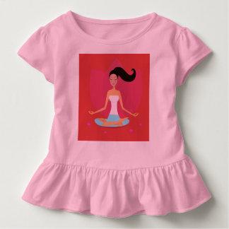 Tshirt LOJA DOS MIÚDOS: menina da ioga