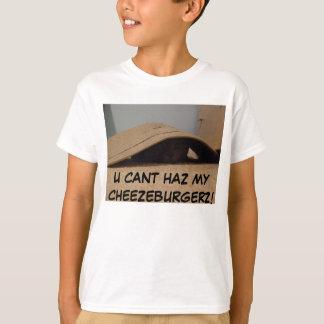 Tshirt lolcatz, HAZ CHANFRADO U MEU CHEEZEBURGERZ!