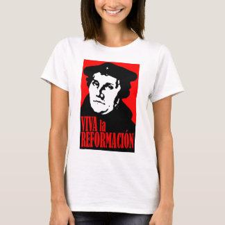 Tshirt LUTHER de Reformacion do la de Viva