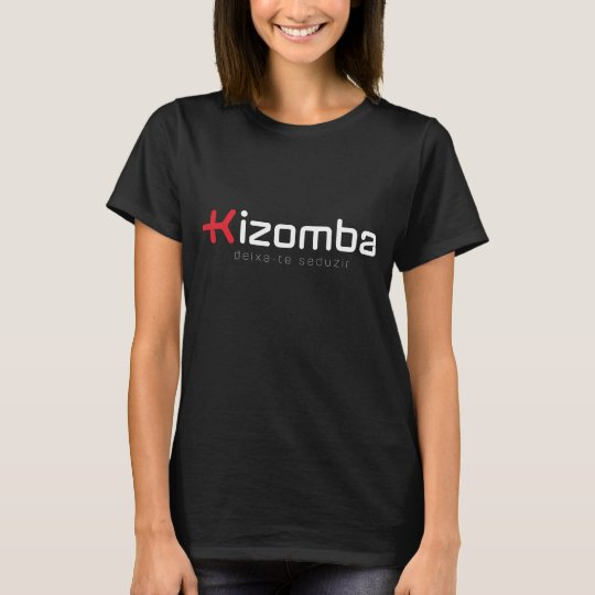 """Tshirt """"Mais Kizomba"""" p/ Mulher"""