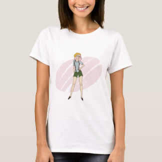 Tshirt Menina do hipster