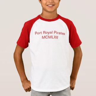 Tshirt Miúdos reais dos piratas do porto