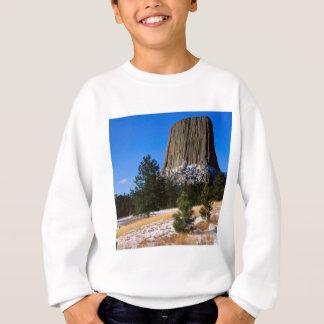Tshirt Monumento Wyoming da torre dos diabos do parque