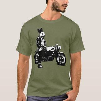 Tshirt Motociclista do coelho
