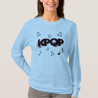 Tshirt Música do coreano do kpop do K-Pop
