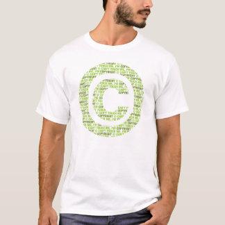 Tshirt Não posso tocar em me, eu sou direitos reservados