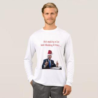 Tshirt Natal do trunfo: Está fazendo uma lista