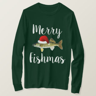Tshirt Natal feio dos Walleye