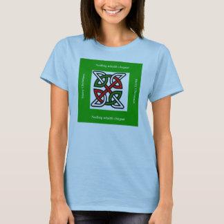Tshirt Nó do céltico do Feliz Natal