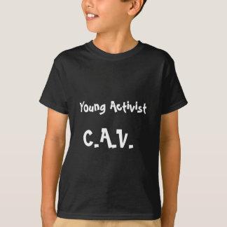 Tshirt novo do activista (crianças contra