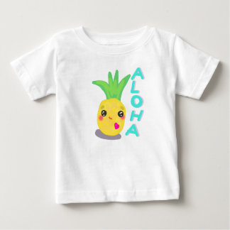 Tshirt O abacaxi bonito diz Aloha