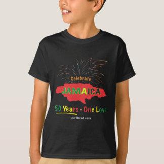 Tshirt O aniversário de Jamaica 50th por