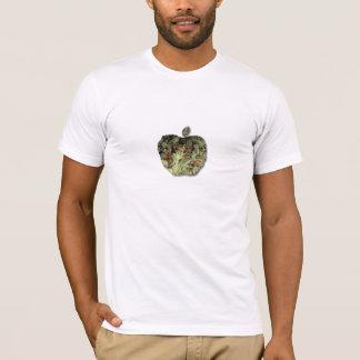 Tshirt O botão Apple