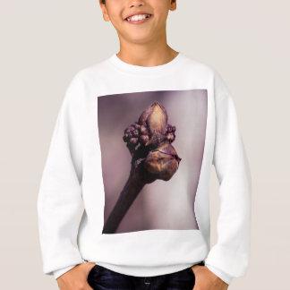 Tshirt O botão do Lilac