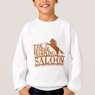 Tshirt O cavalo que pisa o bar