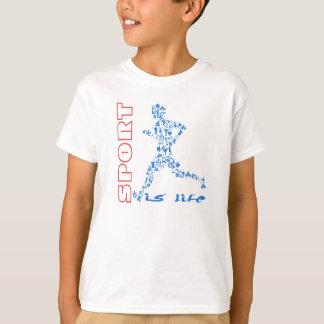 Tshirt O esporte é minha vida