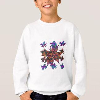 Tshirt O teste padrão de borboleta caçoa a camisola