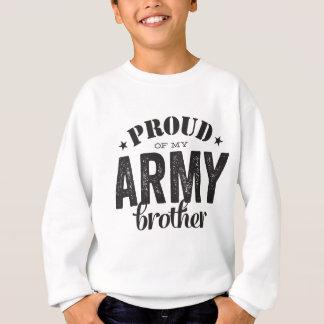 Tshirt Orgulhoso de meu irmão do EXÉRCITO