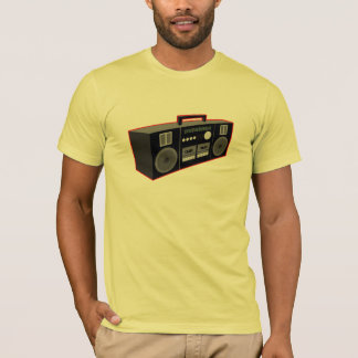 Tshirt os anos 80 Boombox