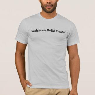Tshirt Páginas da construção de Weirdoes