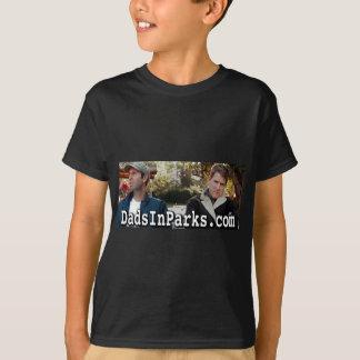 Tshirt Pais nos parques - Jamie & Jeff