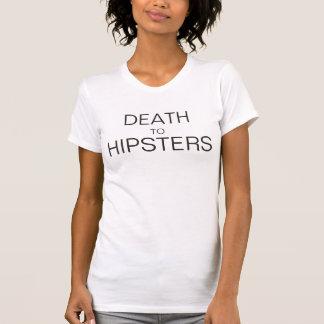 Tshirt para baixo com hipsteres