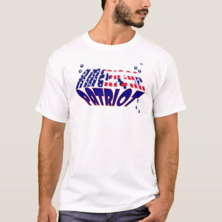 Tshirt Patriota do americano da bandeira dos E.U.