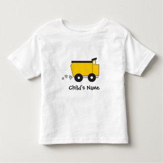 Tshirt personalizado da criança de Dumptruck