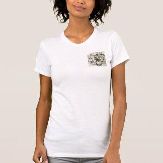 Tshirt Pescoço de grupo alternativo do roupa das suas